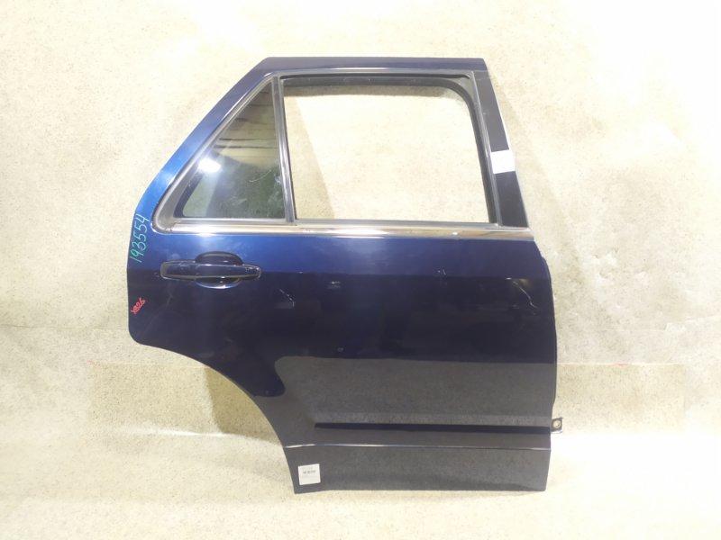 Дверь Cadillac Srx EB26 LY7 2004 задняя правая