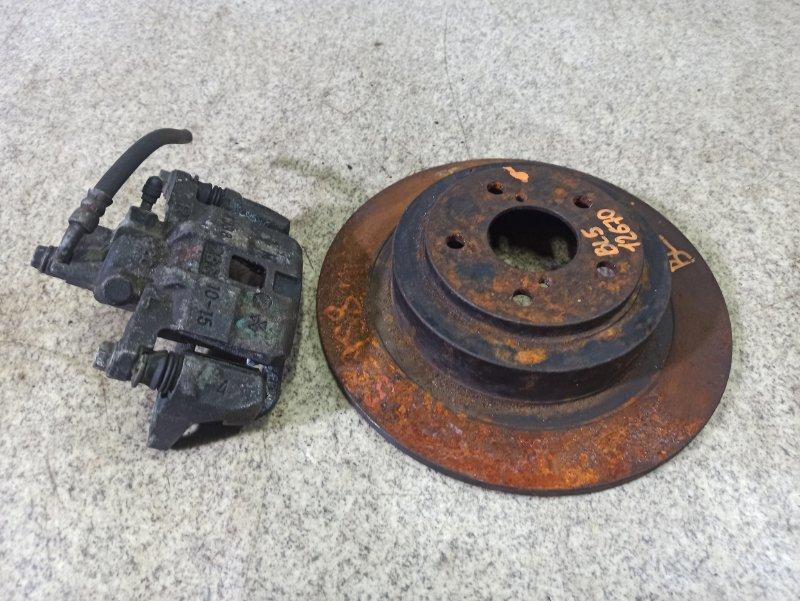 Тормозной диск Subaru Legacy BL5 задний правый #55958