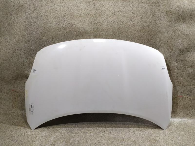 Капот Nissan Latio N17 2013 передний