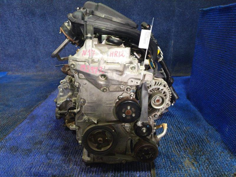 Двигатель Nissan Latio N17 HR12DE 2013
