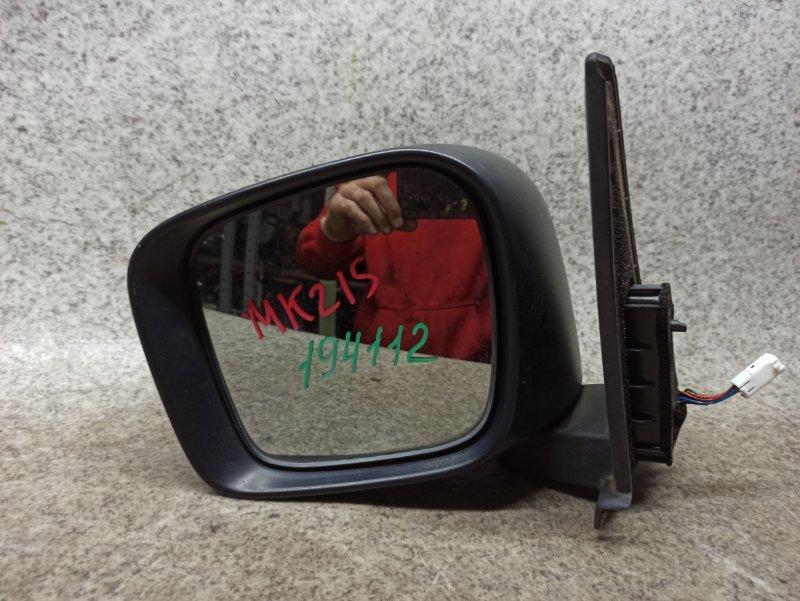 Зеркало Suzuki Palette MK21S переднее левое