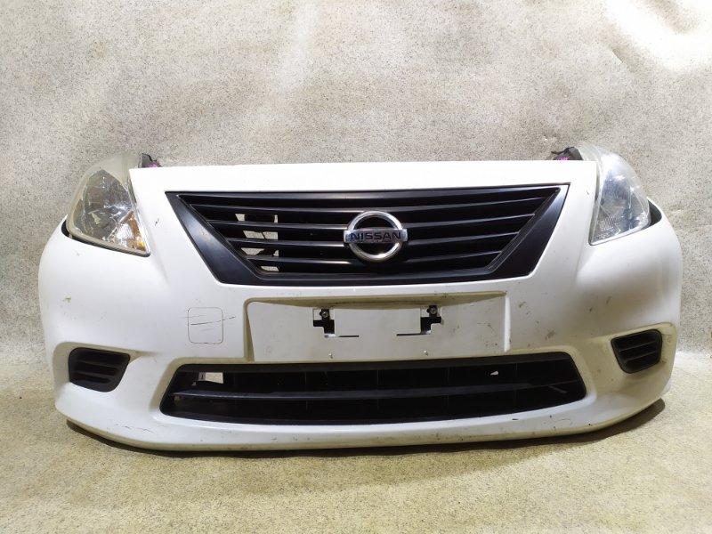 Nose cut Nissan Latio N17 HR12DE 2013 передний