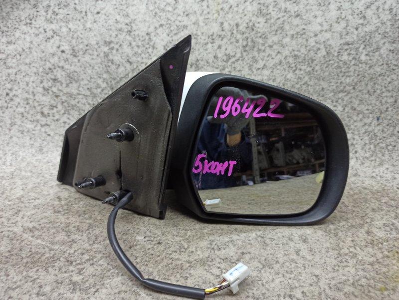 Зеркало Nissan Latio N17 2013 переднее правое