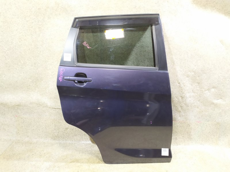 Дверь Mitsubishi Ek Wagon B11W задняя правая