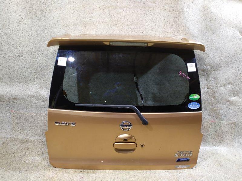 Дверь задняя Nissan Dayz B21W задняя