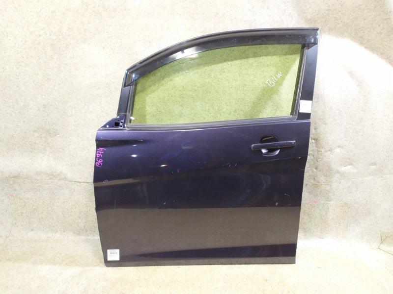 Дверь Mitsubishi Ek Wagon B11W передняя левая