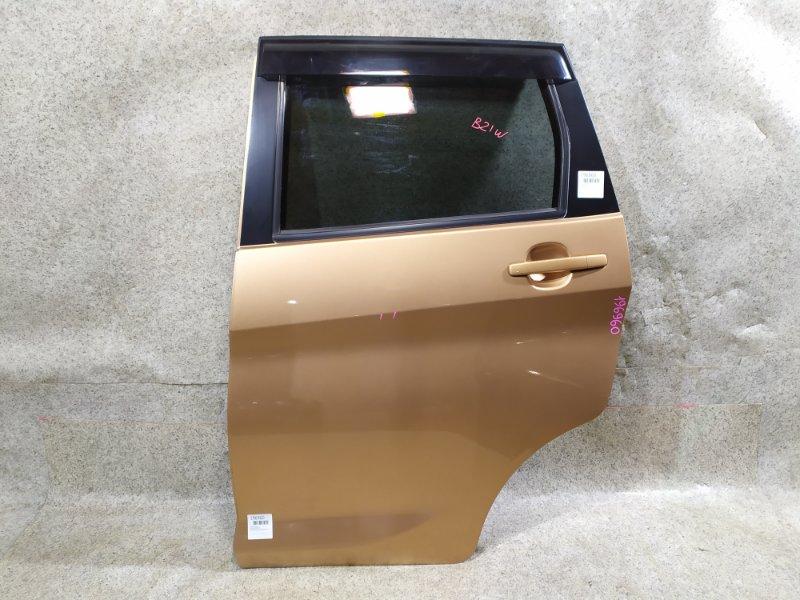 Дверь Nissan Dayz B21W задняя левая