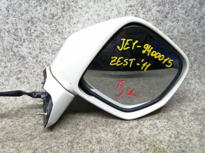 Зеркало Honda Zest JE1 2011 переднее правое