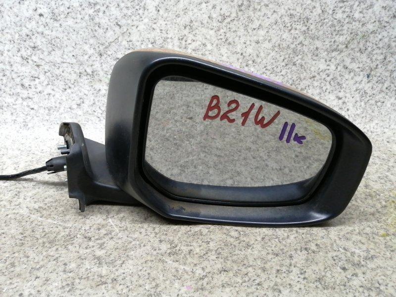 Зеркало Nissan Dayz B21W переднее правое