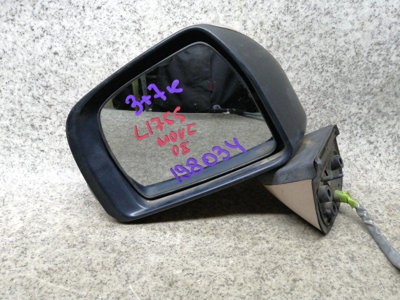 Зеркало Daihatsu Move L175S 2008 переднее левое