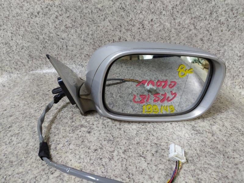 Зеркало Toyota Crown GRS180 переднее правое
