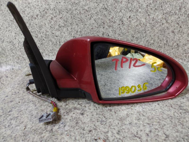 Зеркало Nissan Primera TP12 переднее правое