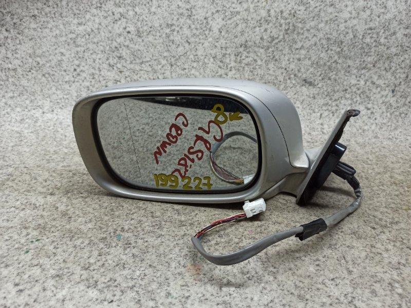 Зеркало Toyota Crown GRS180 переднее левое
