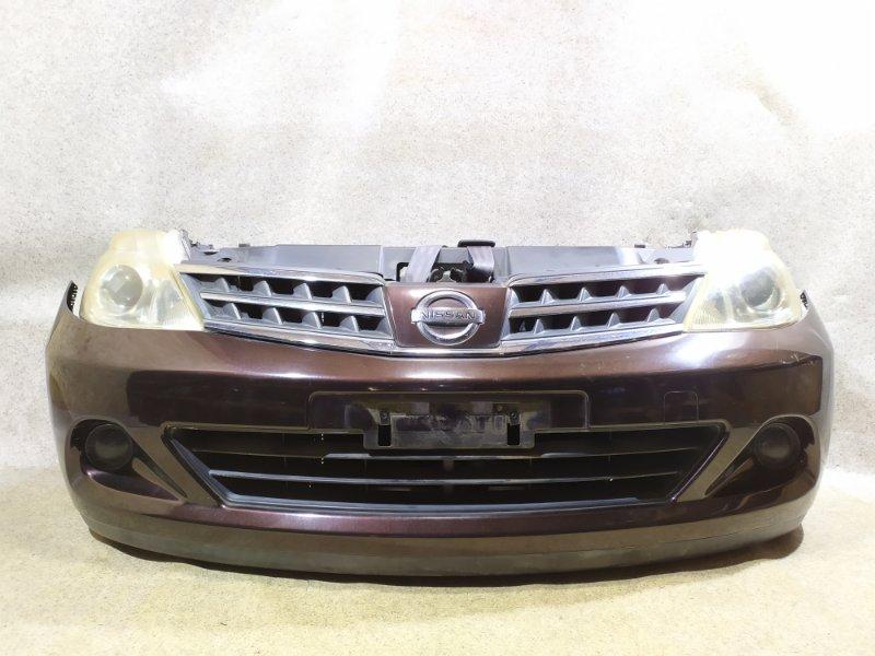 Nose cut Nissan Tiida C11 HR15DE 2010