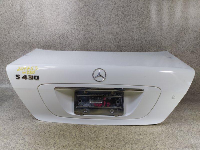 Крышка багажника Mercedes-Benz S-Class W220 2003
