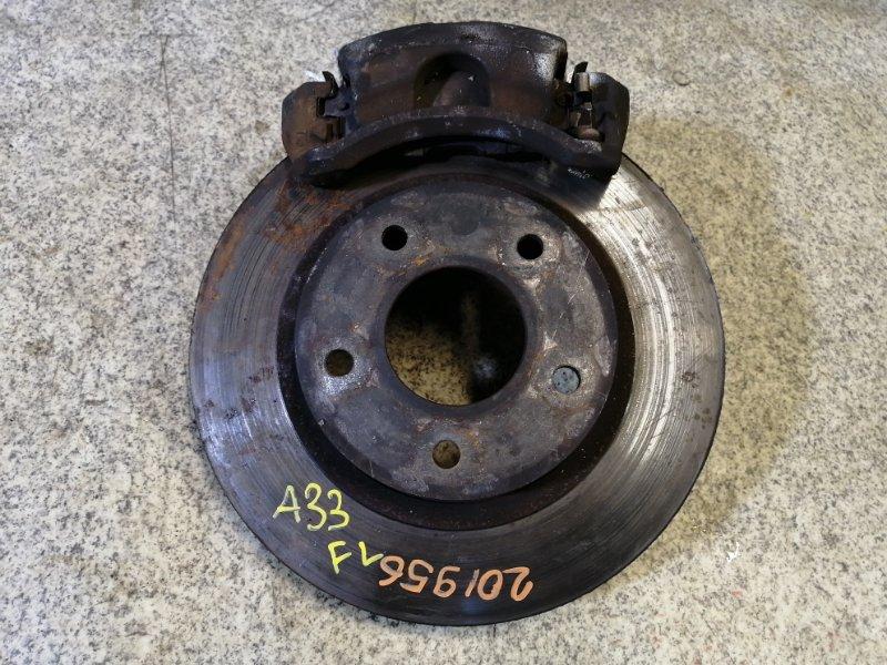 Тормозной диск Nissan Cefiro A33 передний левый