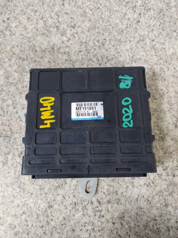 Блок управления efi Mitsubishi Delica PD8W 4M40