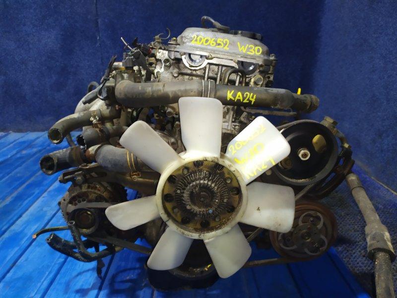 Двигатель Nissan Largo W30 KA24DE