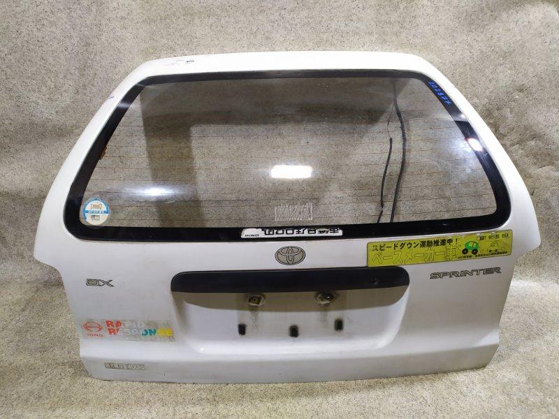 Дверь задняя Toyota Sprinter CE106 1997