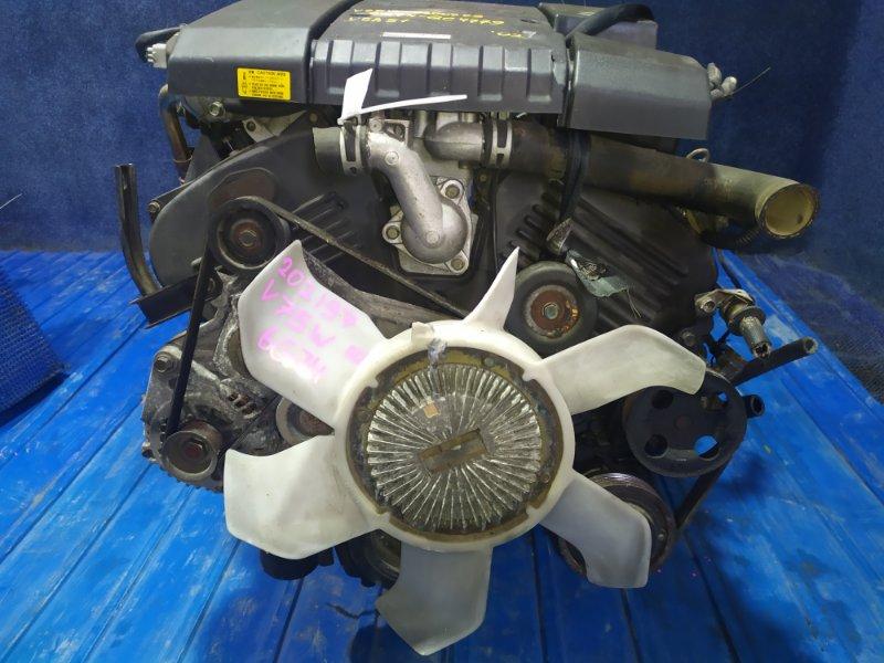 Двигатель Mitsubishi Pajero V75W 6G74GDI 2002