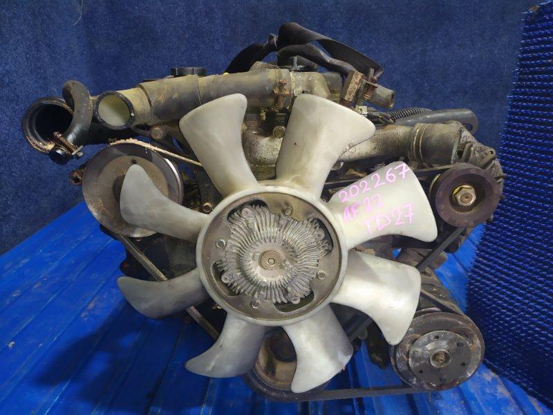 Двигатель Nissan Atlas AF22 TD27 1990