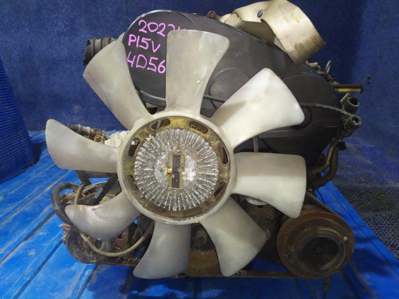 Двигатель Mitsubishi Delica P15V 4D56 1986