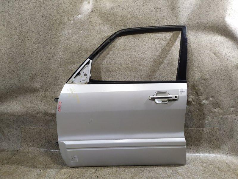 Дверь Mitsubishi Pajero V75W передняя левая