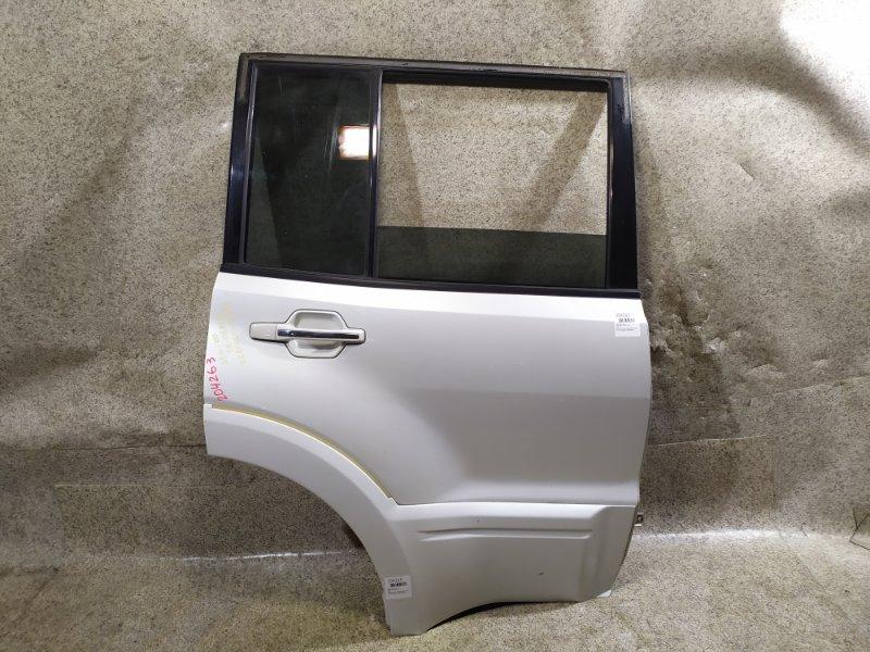 Дверь Mitsubishi Pajero V75W задняя правая