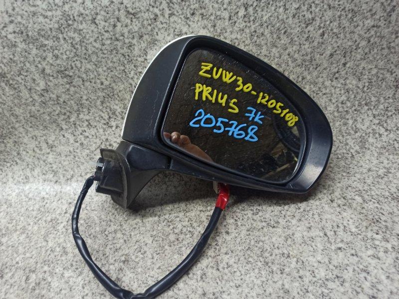 Зеркало Toyota Prius ZVW30 2010 переднее правое