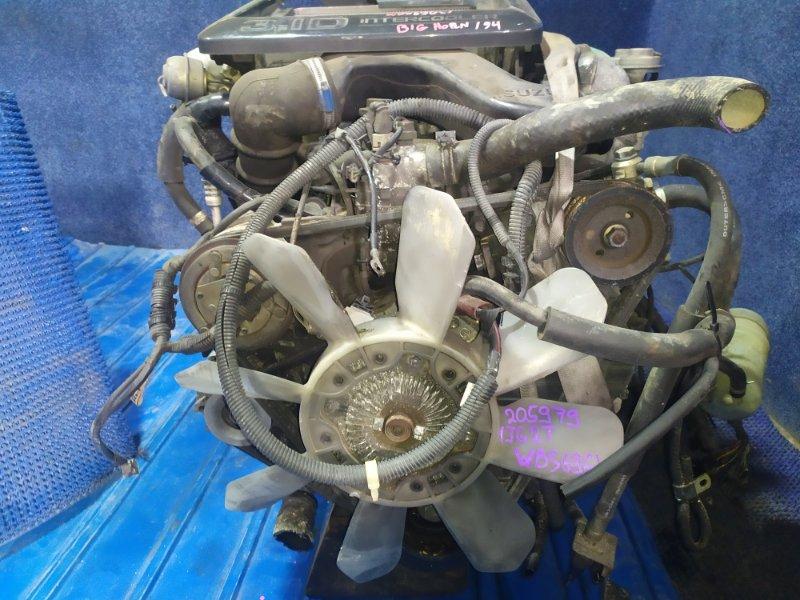 Двигатель Isuzu Bighorn UBS69GW 4JG2T 1994