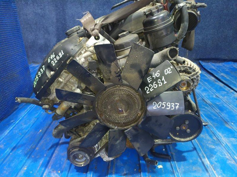 Двигатель Bmw 3-Series E46 M54B22 (226S1) 2002