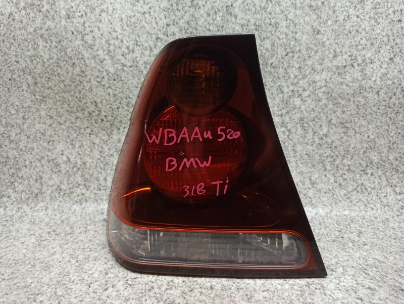 Стоп-сигнал Bmw 3-Series E46 N42B20AB 2003 задний левый