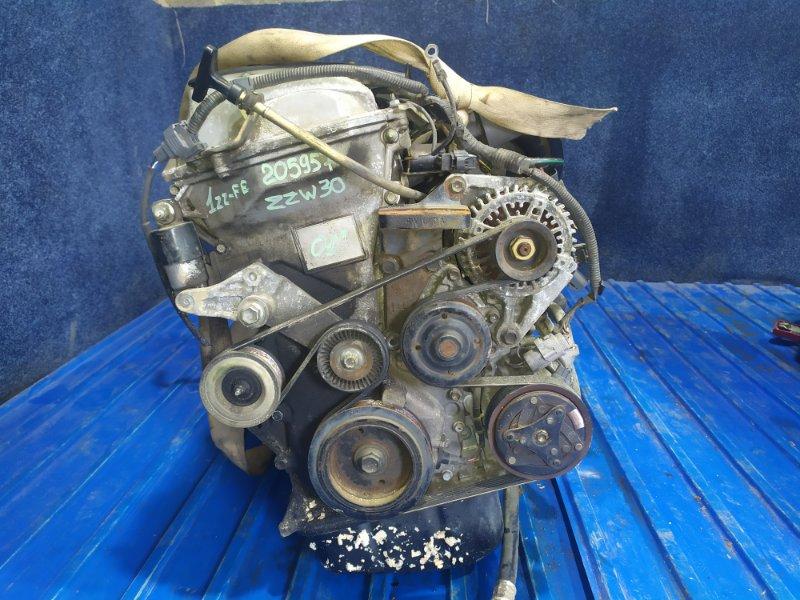 Двигатель Toyota Mr-S ZZW30 1ZZ-FE 2001