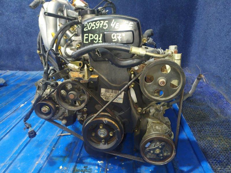 Двигатель Toyota Starlet EP91 4E-FE 1997