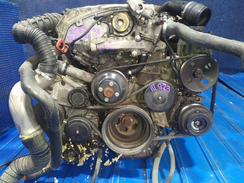 Двигатель Mercedes-Benz Slk-Class 170.447 (SLK230) M111 E23 ML 1998