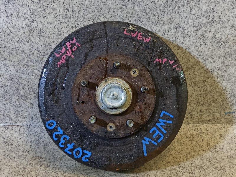 Ступица Mazda Mpv LWEW задняя правая