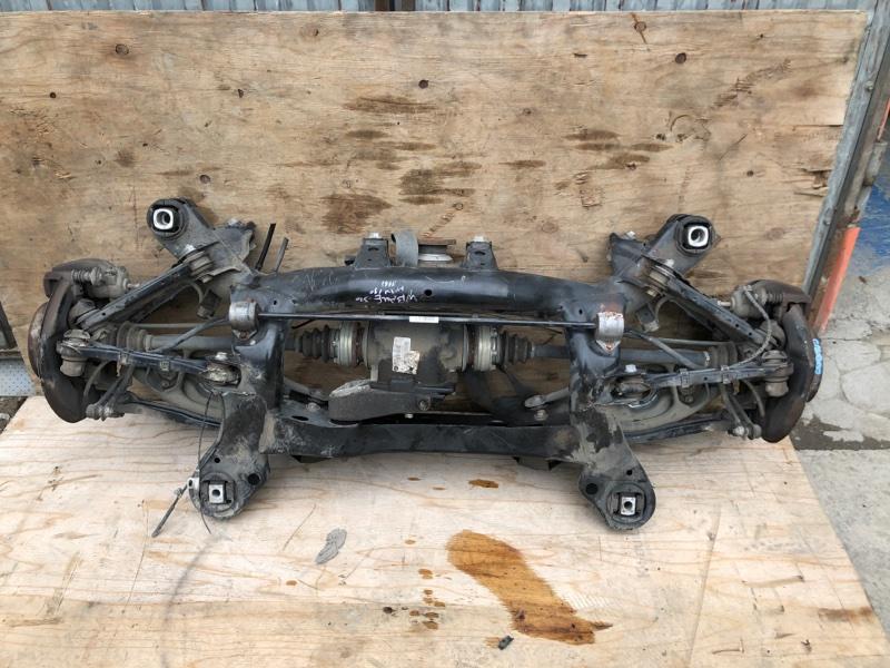 Балка подвески Bmw 1-Series E87 N43B16 2003 задняя
