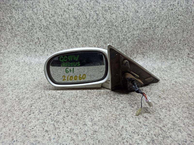 Зеркало Suzuki Cultus GC41W переднее левое
