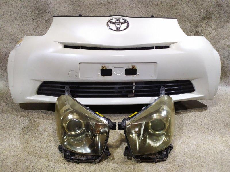 Nose cut Toyota Iq KGJ10 1KR-FE 2009 передний