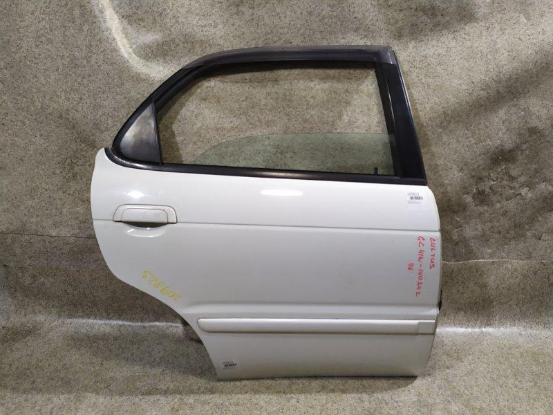 Дверь Suzuki Cultus GC41W 1996 задняя правая
