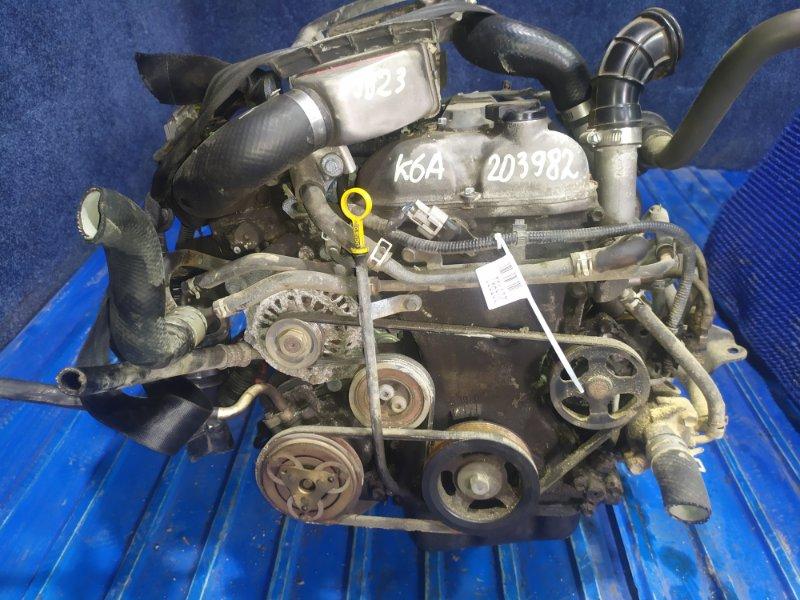 Двигатель Suzuki Jimny JB23W K6A-T 1999