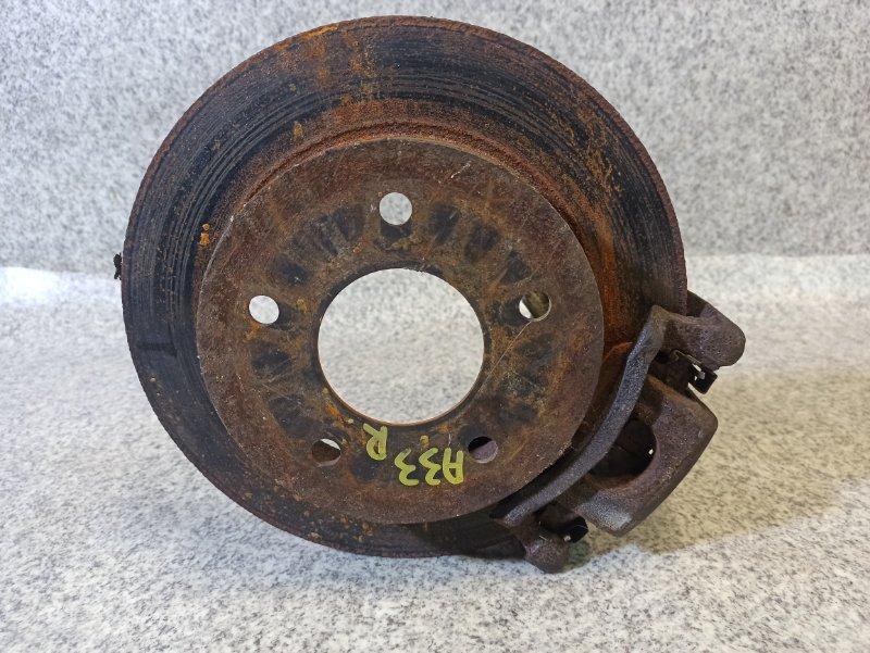 Тормозной диск Nissan Cefiro A33 задний правый