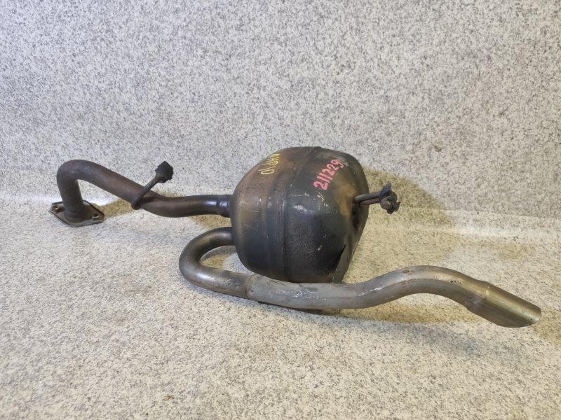 Глушитель Toyota Aqua NHP10