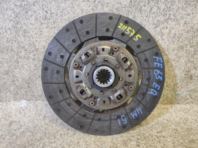Диск сцепления Mitsubishi Canter FE63EG 4M51