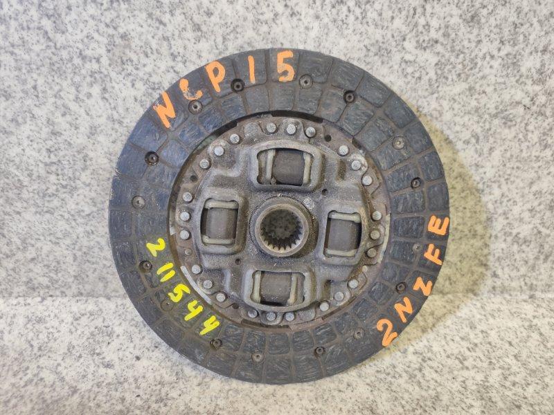 Диск сцепления Toyota Platz NCP15 2NZ-FE