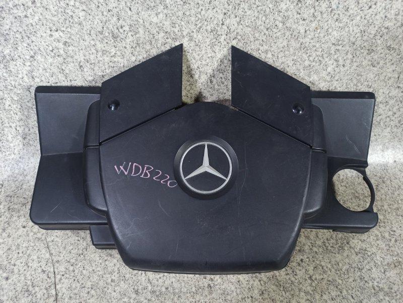 Пластиковая крышка на двс Mercedes-Benz S-Class W220