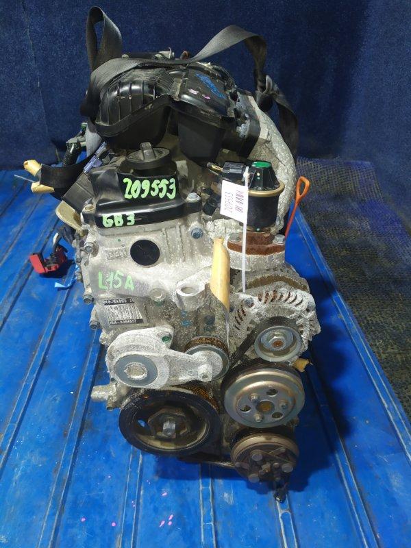 Двигатель Honda Freed GB3 L15A VTEC 2009