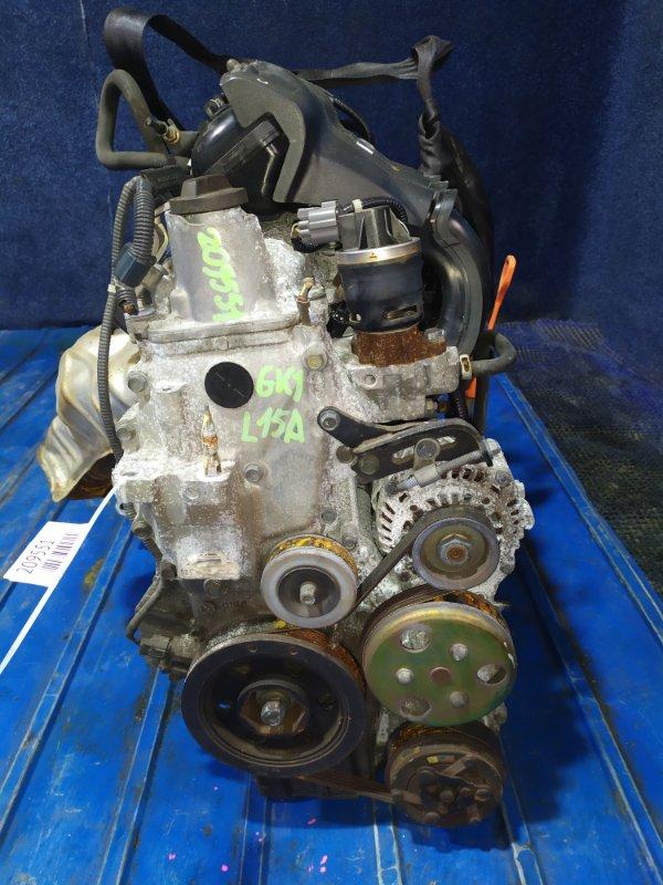 Двигатель Honda Mobilio Spike GK1 L15A VTEC 2004