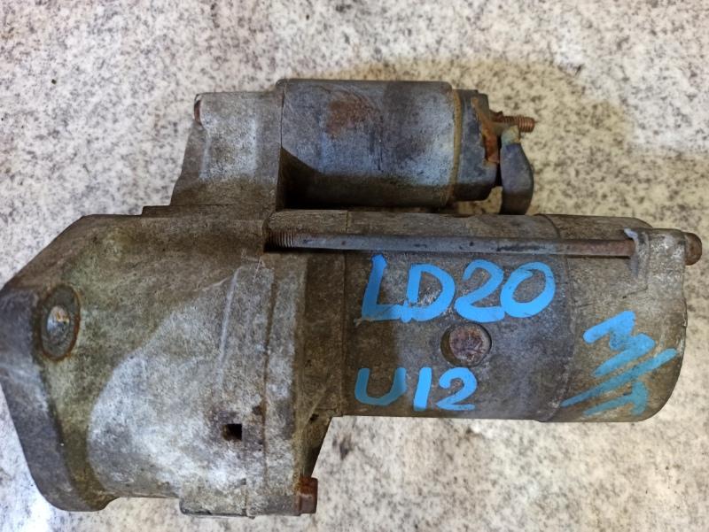 Стартер Nissan Bluebird U12 LD20