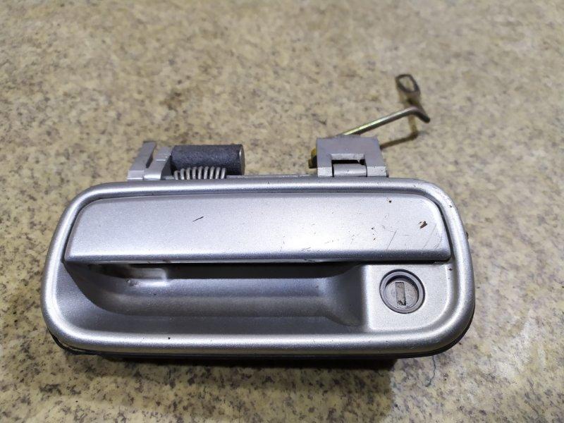 Ручка двери Toyota Hilux Surf VZN185 5VZ-FE передняя левая